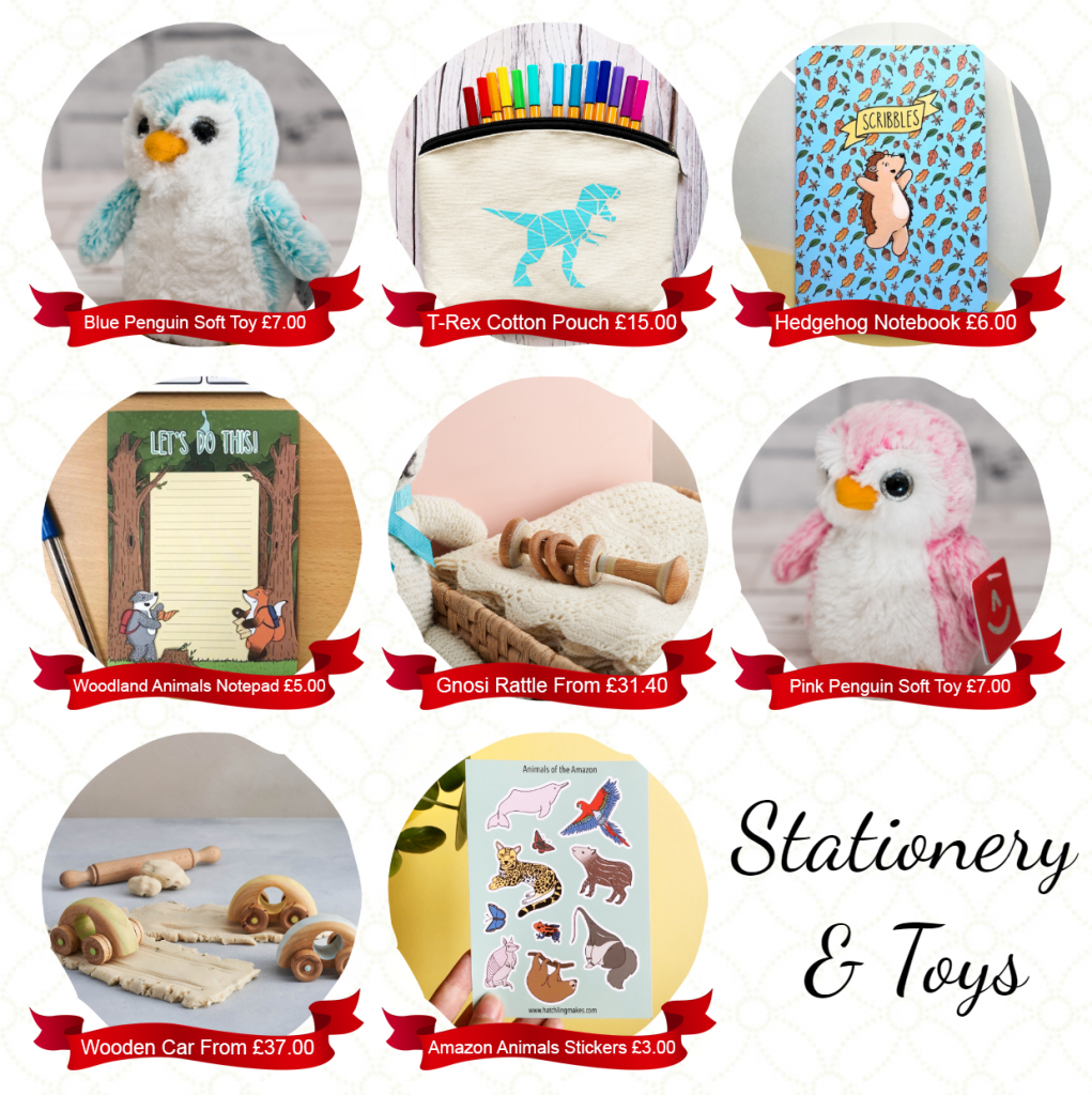stationery and toys gift christmas xmas
