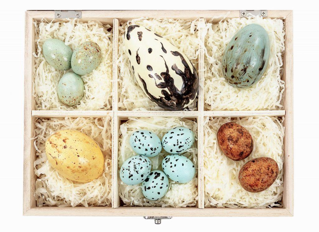 edible museum chocolate eggs gift box christmas gifting